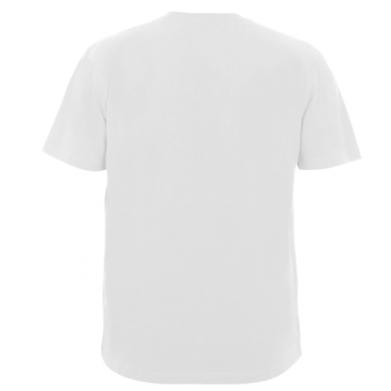 Цвет Белый, Мужские футболки - FatLine