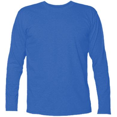 Цвет Синий, Футболки с длинным рукавом - FatLine