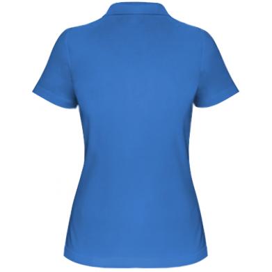 Цвет Синий, Поло женские - FatLine