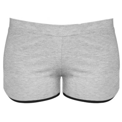 Цвет Серый, Женские шорты - FatLine