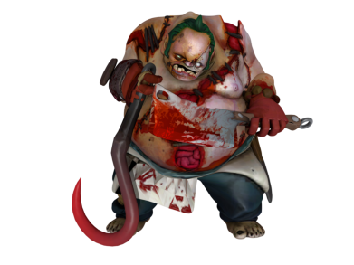 ����� ������� ����� Pudge Dota 2 - FatLine