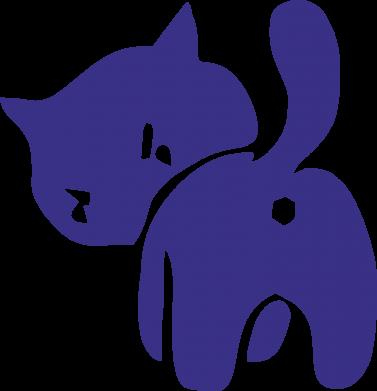 Принт Коврик для мыши злой котэ - FatLine