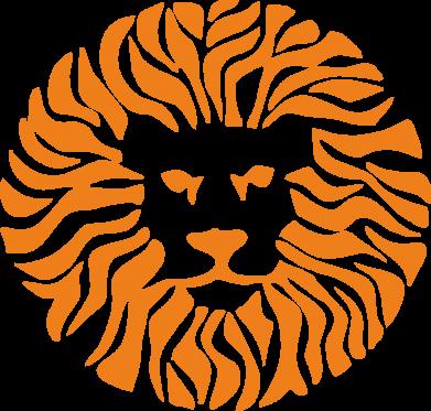 Принт Толстовка жіноча лев - FatLine