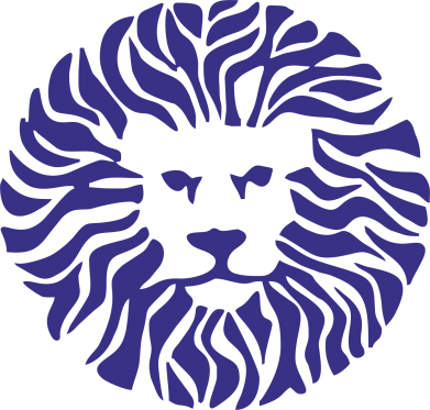 Принт Кружка 320ml лев - FatLine