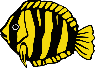 Принт Кепка-тракер рибка - FatLine
