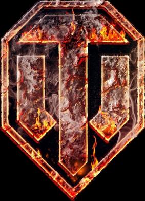 """Принт Футболка с длинным рукавом Логотип World Of Tanks """"Раскаленный металл"""" - FatLine"""