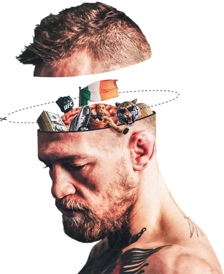 Принт Подушка Inside the head Conor - FatLine