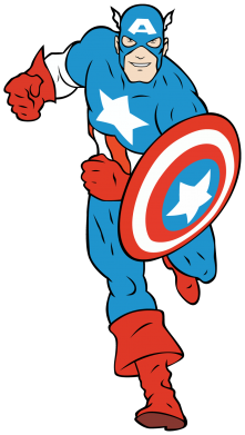 ����� �������� Captain America Comics - FatLine