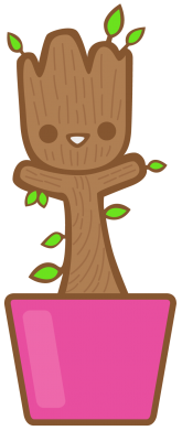 ����� ������� ��������� Little Groot - FatLine
