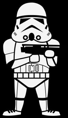 Принт Сумка Little Stormtrooper - FatLine
