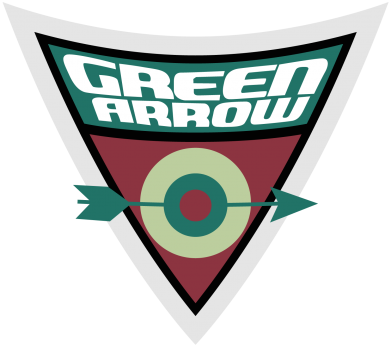 ����� ������� �������� Green Arrow Logo - FatLine