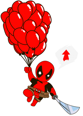 ����� ������ Deadpool Going Up - FatLine