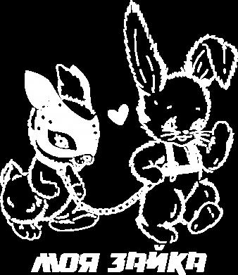 Принт Женская толстовка Скелет на мотоцикле - FatLine