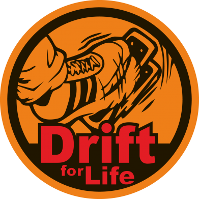 Принт Футболка Drift for Life - FatLine