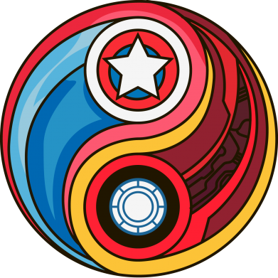 ����� ������ ��� ���� Captain America & Iron Man - FatLine
