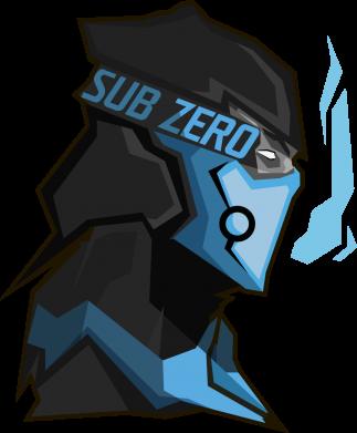 Принт Мужская толстовка на молнии Sub-Zero - FatLine