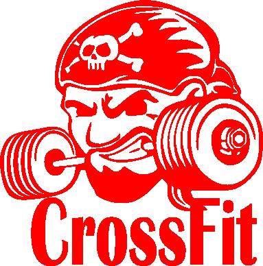 Принт Фартук Angry CrossFit - FatLine
