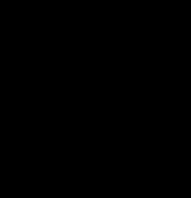 Принт Женская футболка с V-образным вырезом 1986 - FatLine