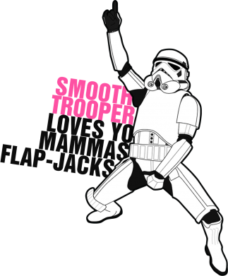 Принт Фартук Smooth Trooper - FatLine
