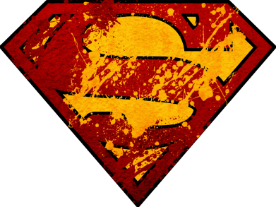 ����� ������� ��������� Superman graffiti - FatLine