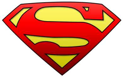 Принт Майка-тельняшка Superman Logo - FatLine