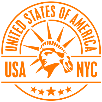 Принт Женская толстовка USA NYC - FatLine