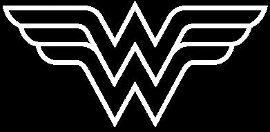 Принт Снепбек Wonder Woman Logo - FatLine