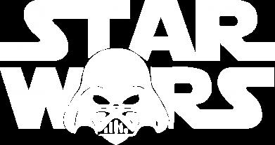 Принт Мужская толстовка на молнии StarWars Logo - FatLine