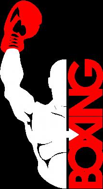 Принт Футболка Поло Boxing Fighter - FatLine
