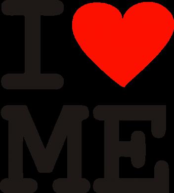 Принт Кепка-тракер I love ME - FatLine