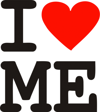 Принт Тільняшка з довгим рукавом I love ME - FatLine