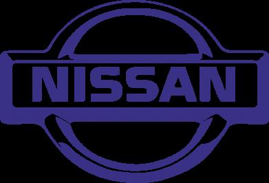 Принт Кружка-хамелеон логотип Nissan - FatLine