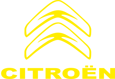 Принт Наклейка Логотип Citroen - FatLine