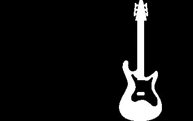 Принт Футболка Поло Guitarist - FatLine