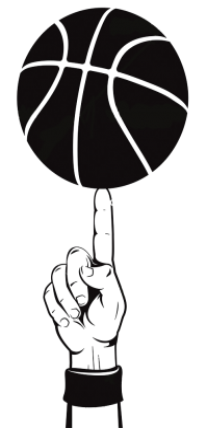 Принт Сумка Рука Баскетболиста - FatLine