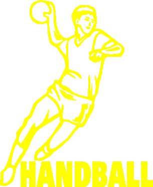 Принт Мужская толстовка на молнии Handball - FatLine