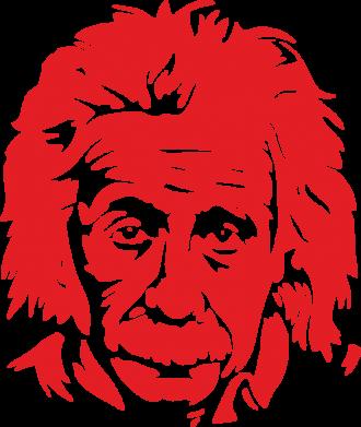 Принт Коврик для мыши Энштейн - FatLine