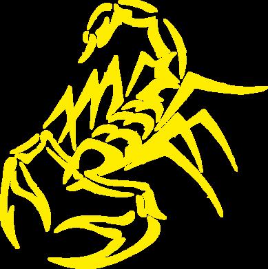 Принт Женская толстовка скорпион 2 - FatLine