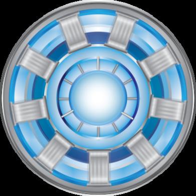Принт Детская кепка Реактор Тони Старка - FatLine