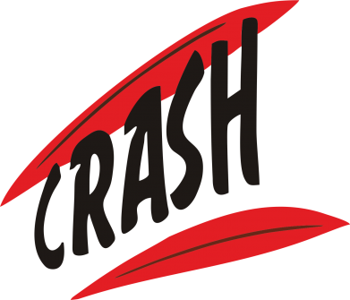 Принт Футболка Поло Crash - FatLine