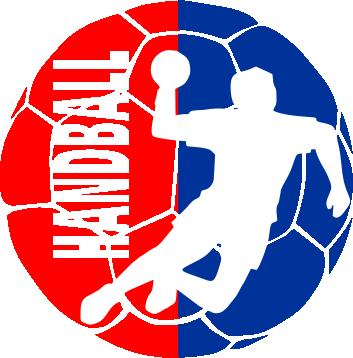 ����� ������� ��������� �� ������ Handball Logo - FatLine
