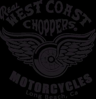 Принт Мужская футболка  с V-образным вырезом West Coast Choppers - FatLine