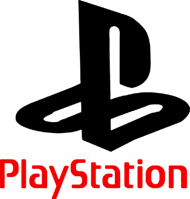 Принт Женская футболка с V-образным вырезом PlayStation - FatLine