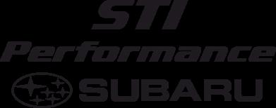 Принт Наклейка Subaru STI - FatLine