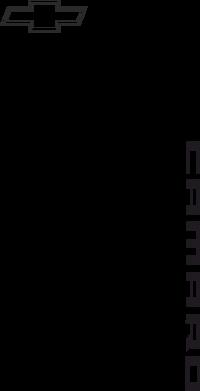 Принт Фартук Chevrolet Camaro - FatLine
