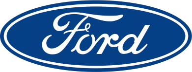 ����� ������� ��������  � V-�������� ������� Ford Logo - FatLine