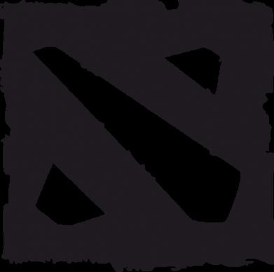 Принт Кружка 320ml Dota Logo Дота - FatLine