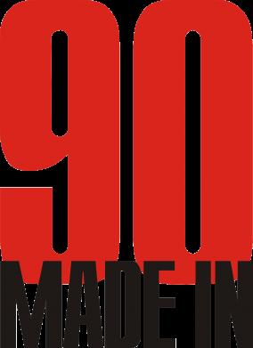 Принт Подушка Made in 90 - FatLine