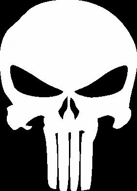 Принт Кепка-тракер Зубастый череп - FatLine