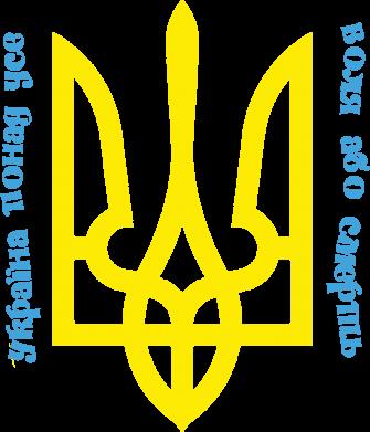 Принт Футболка с длинным рукавом Україна понад усе! Воля або смерть! - FatLine